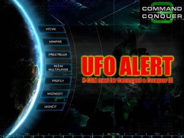 UFO ALERT - X-COM mod for C&C III Tiberium Wars