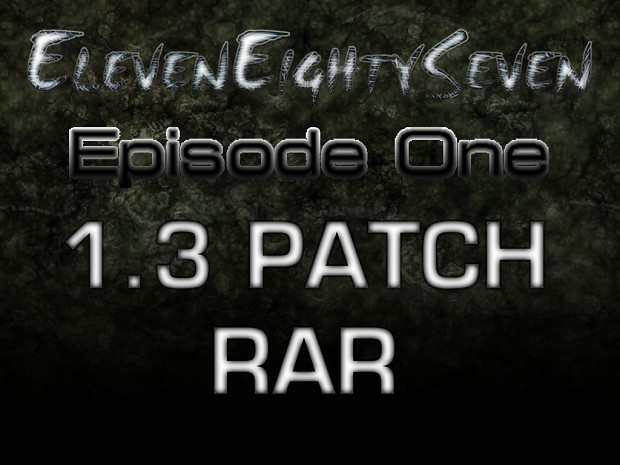 1187 - Episode One 1.3 PATCH .RAR