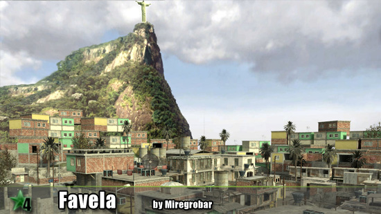 Favela ( CoD4 ) Final