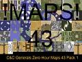 C&C Generals Zero Hour Maps 43 Pack 1