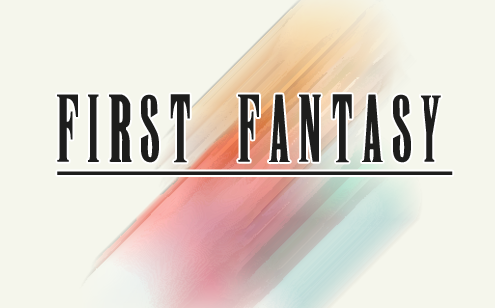 First Fantasy Version 1.1 patch