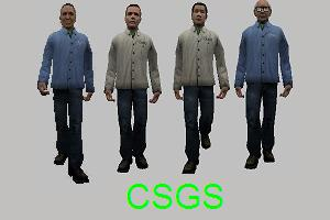CSGS Hostage models Fixed