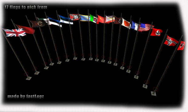 Main Nation Flags