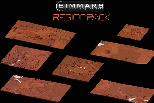 SimMars Region Pack