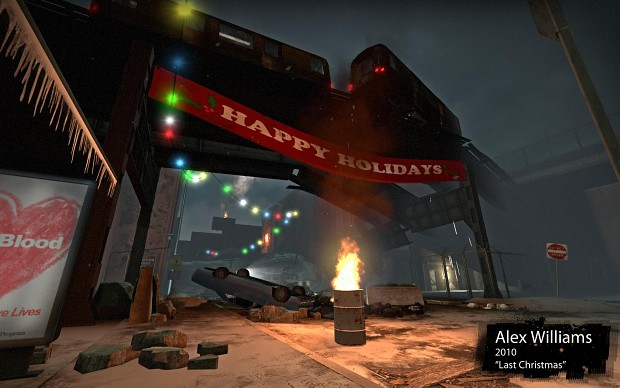 L4D2 Survival Map - Last Christmas