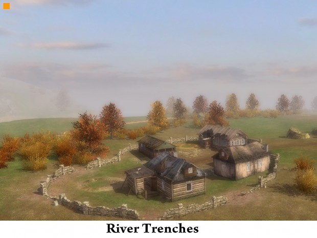 River trenches map