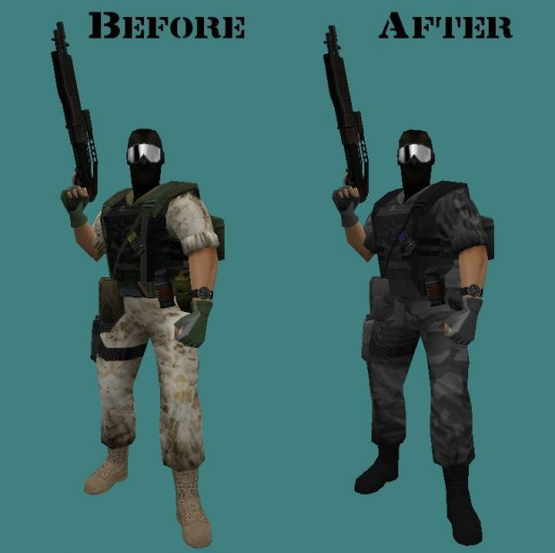 Opposing Force Redux Urban Hgrunt