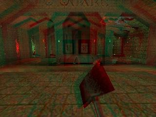 Anaglyph Stereo Quake