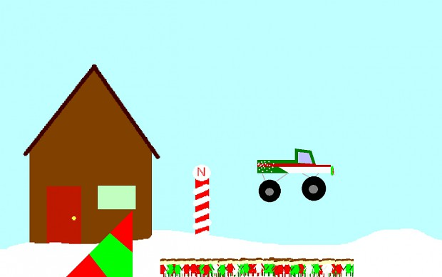 1 Monster Truck vs. 61 Children Christmas!