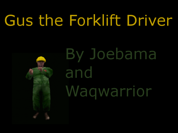 Gus the Forklift Driver Player Model