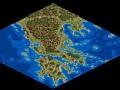 A map of Greece by Den Cekke