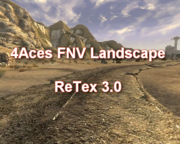 4Aces FNV Land ReTex 3.0 Trailer