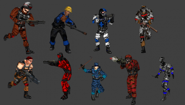 Team Fortress Classic Playermodels for garry's mod
