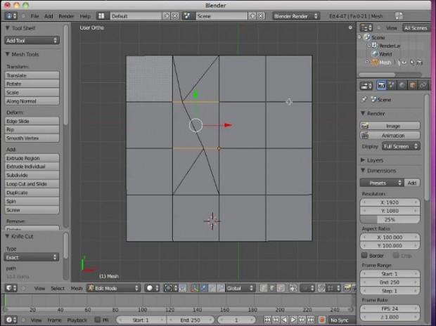 Blender 2.5.x Video Tutorials #4 by Neal Hirsig