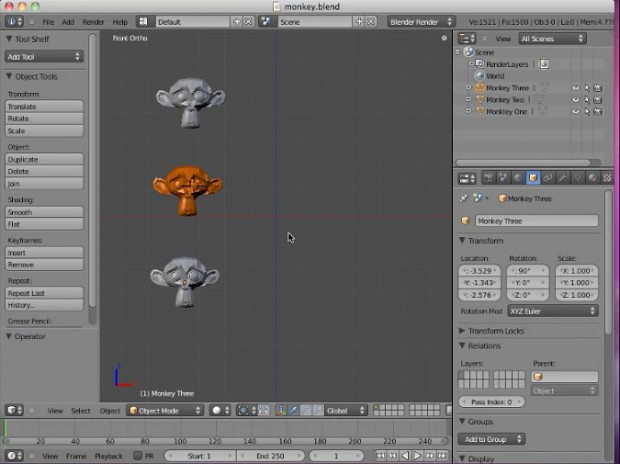 Blender 2.5.x Video Tutorials #3 by Neal Hirsig