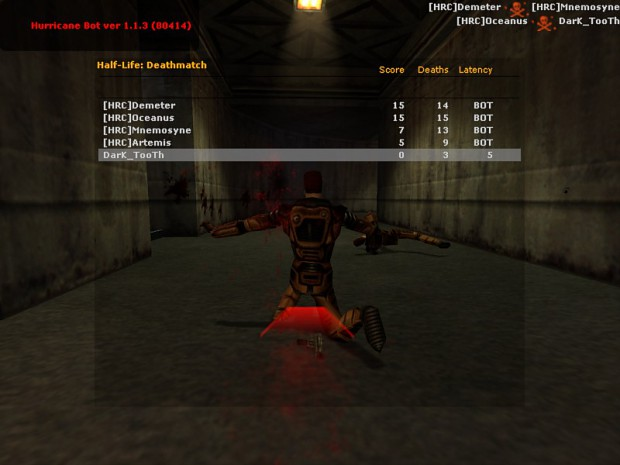 BOTS for Half Life Deathmatch Source