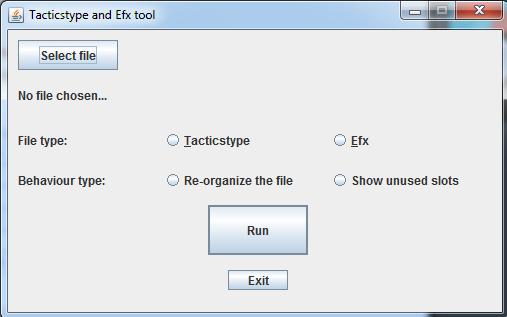 Tacticstype tool 2.0