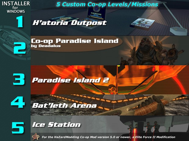 Co-op Custom Levels