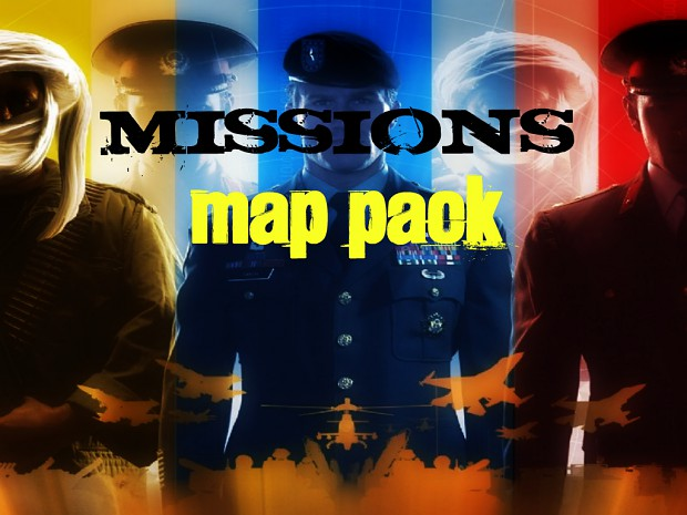 mission maps, collected around the web