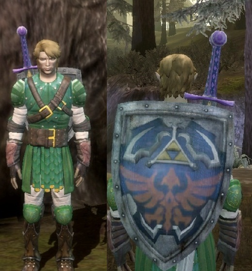 Legend of Zelda gear pack