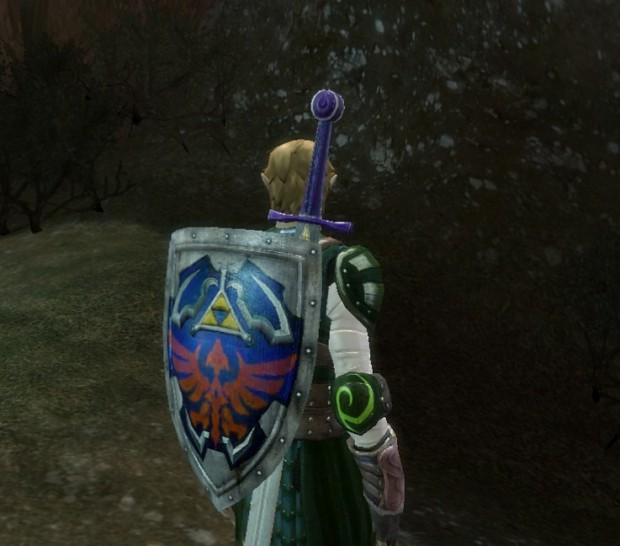 Dark Green LoZ gear