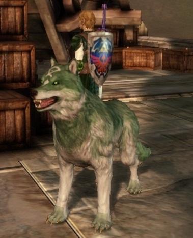 Link's Wolf companion