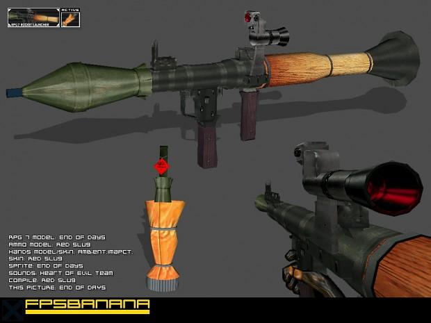 EoDs and Red Slugs RPG7