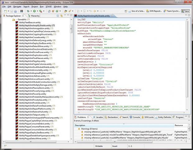 Sins Eclipse Editor v0.8.3