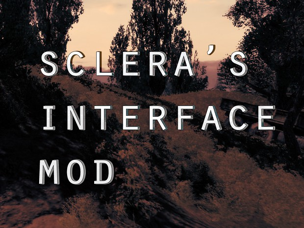 Sclera's Interface Mod