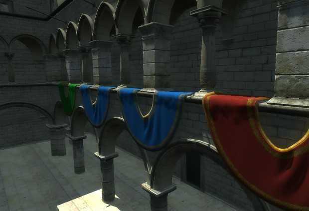 GameCore 3d Sponza demo