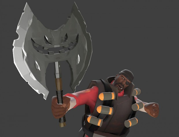 Demoman - Symmetrical Headtaker's Axe