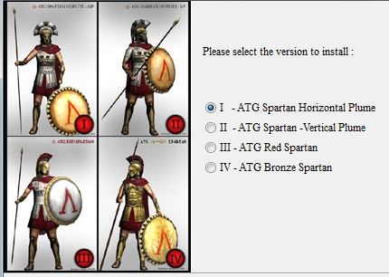 Rome TW Spartan Pack v1.2
