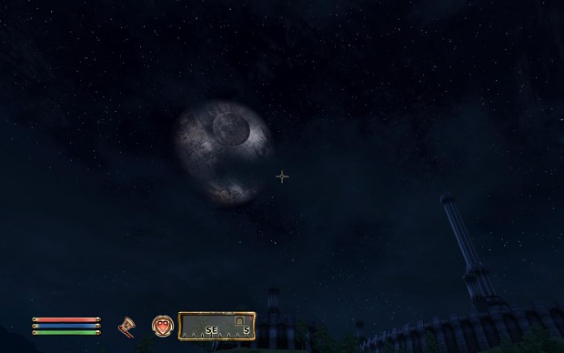 Elder Scrolls IV Oblivion: Death Star moon