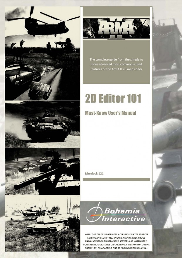 ARMA 2 Mission Editor Must-Know User's Manual