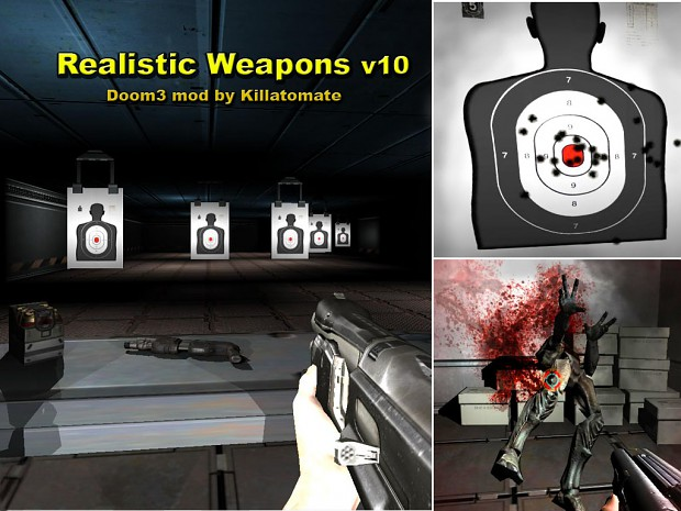 Doom 3 Realistic Weapons v10