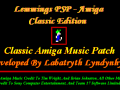 Lemmings PSP - Amiga Classic Edition Patch + Tools