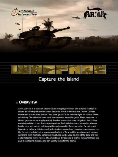 ARMA Warfare Manual