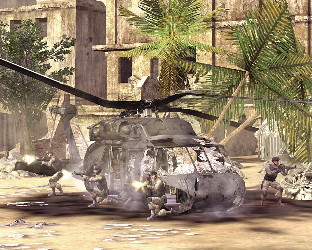 Black Hawk Down for End of Days mod