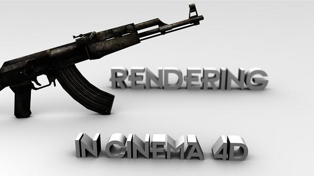 How to make renders in Cinema 4D