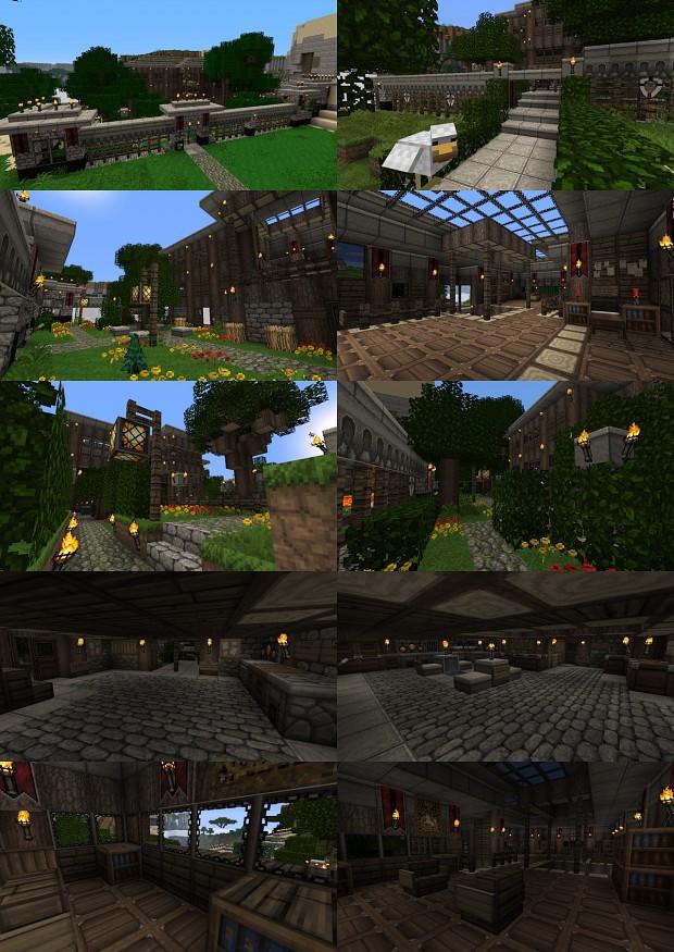 beautiful minecraft house