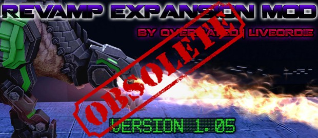 OBSOLETE - Revamp Expansion Mod v1.05