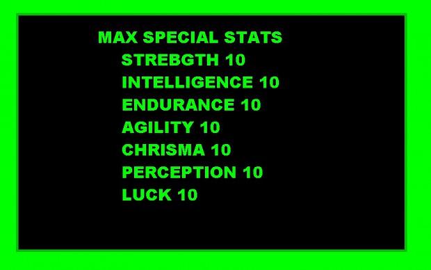 max stats perks