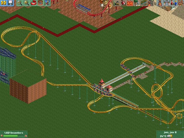RCT 2 My first park