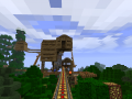 large minecart track