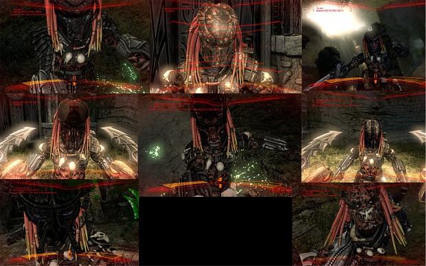 AVP Dark,Evil Predator skin pack