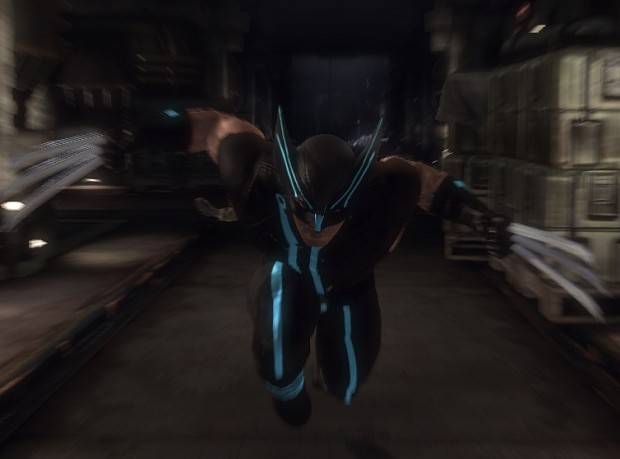 Wolverines Tron Suit