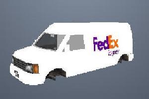 Fed Ex Van Mod