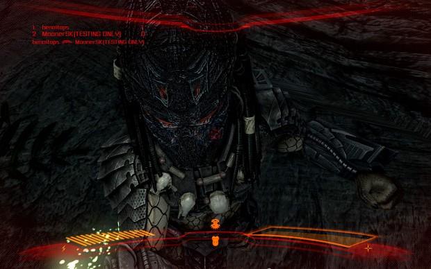 AVP Predator Skin The Dark One