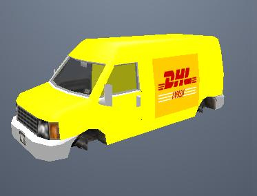 DHL Van Mod