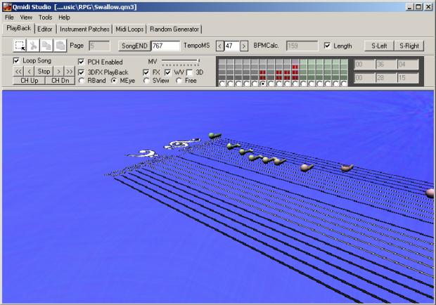 Qmidi Studio (v2.13) freeware